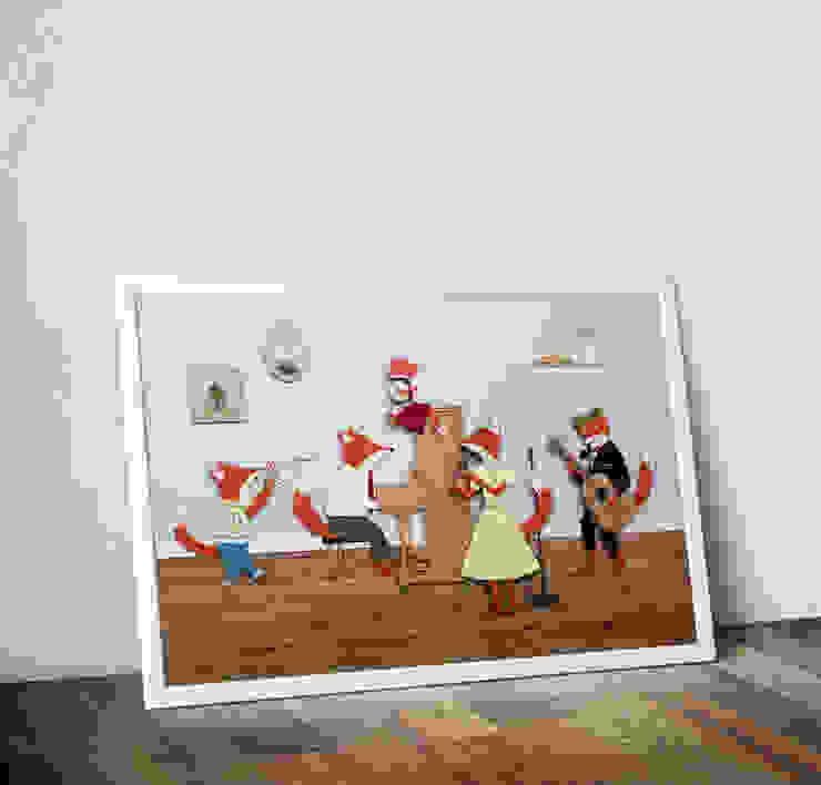 Band of Foxes by Rachael Edwards Wraptious ІлюстраціїКартини та картини
