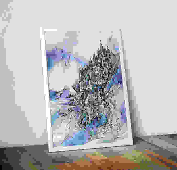 Eastern Light by Lee Vincent Wraptious ІлюстраціїКартини та картини