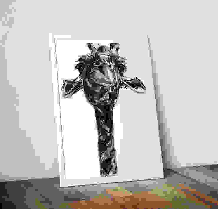 Giraffe by Bex Williams Wraptious ІлюстраціїКартини та картини
