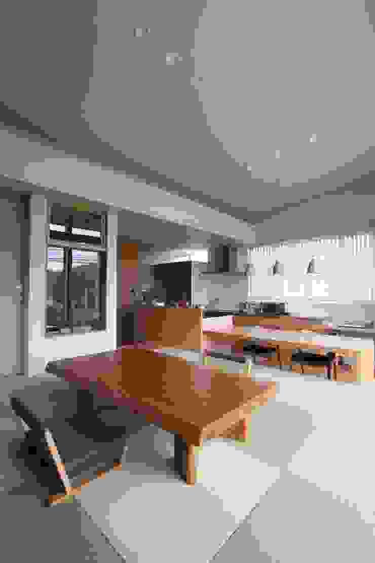 和気町の家 和風デザインの リビング の 福田康紀建築計画 和風