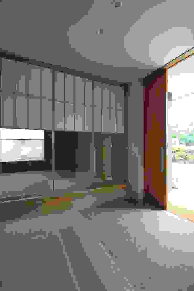 和気町の家 和風デザインの 多目的室 の 福田康紀建築計画 和風