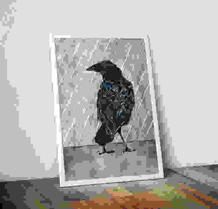 Raincrow by Alice Rope Wraptious ІлюстраціїКартини та картини