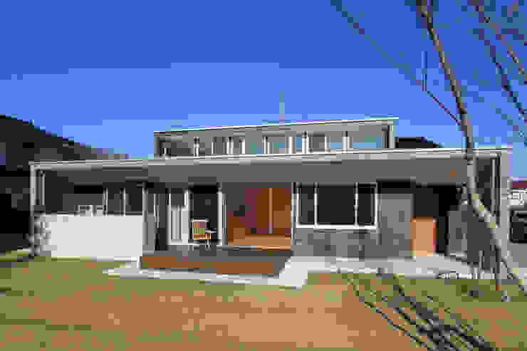 内灘町の家 モダンな 家 の 福田康紀建築計画 モダン