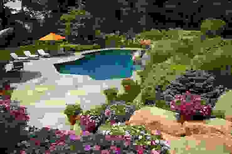 Rustic style garden by italiagiardini Rustic