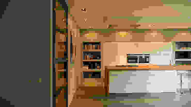 Nhà bếp by Joep van Os Architectenbureau