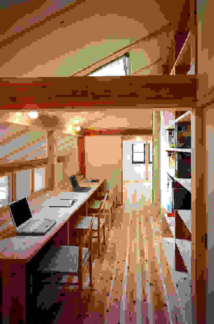 ワークスペース オリジナルデザインの 書斎 の 芦田成人建築設計事務所 オリジナル