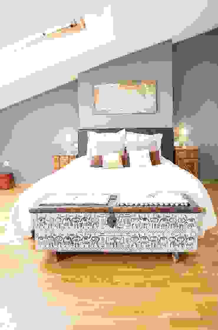 Dormitorio suite Molins de Rei Dormitorios de estilo escandinavo de muxo Studio Escandinavo