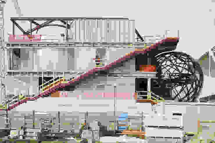 Padiglione Azerbaigian in costruzione Gonzato Contract