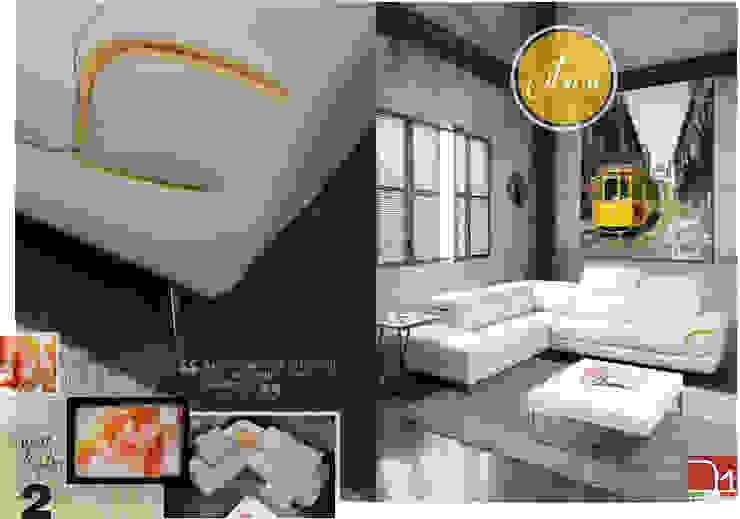 Modelo Citron en piel de Maxsalotti Sofas Moderno