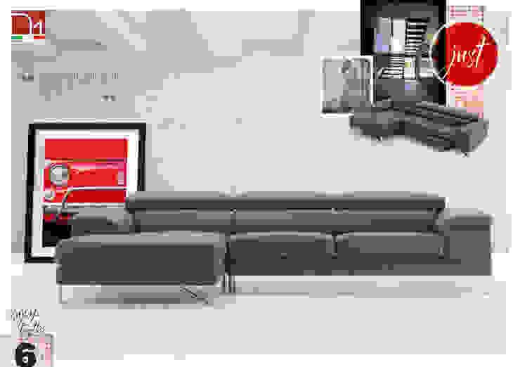 Modelo Just en Piel de Maxsalotti Sofas Moderno