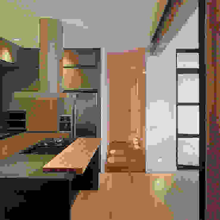 Perspectiva cocina Cocinas de estilo moderno de B-mice Design + Architecture Moderno