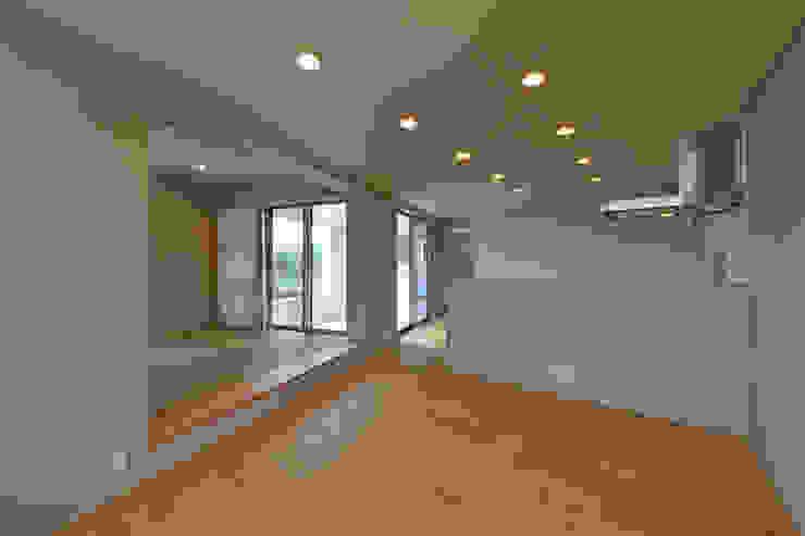 立体の家 モダンデザインの リビング の プラソ建築設計事務所 モダン
