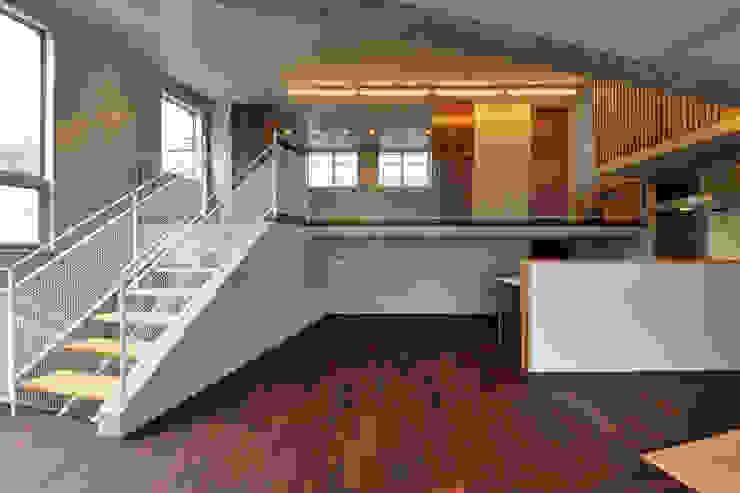 立体の家 モダンデザインの ダイニング の プラソ建築設計事務所 モダン