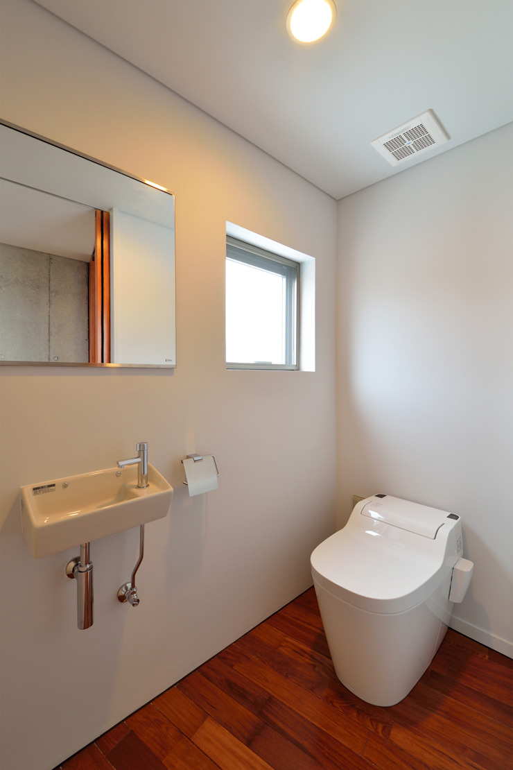 立体の家 モダンスタイルの お風呂 の プラソ建築設計事務所 モダン