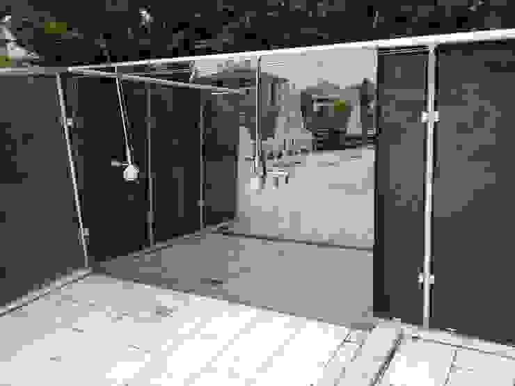 Daha Sonra Temperli Bu camı Getirdik.... Akdeniz Banyo ideal duşakabin Akdeniz