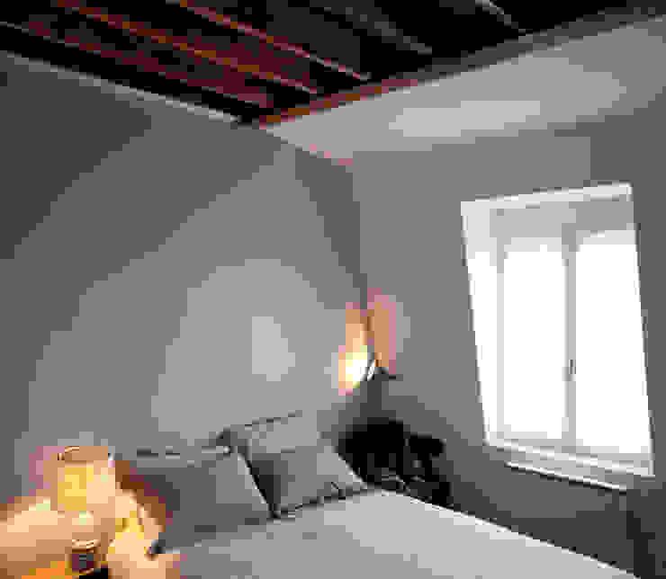 PARIS 11° Chambre minimaliste par RBB architectes Minimaliste