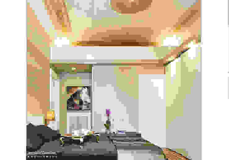 Casa privata BARI. QUARTIERE MURAT, Palazzo primi anni '20. Camera da letto in stile classico di Azzurra Garzone architetto Classico