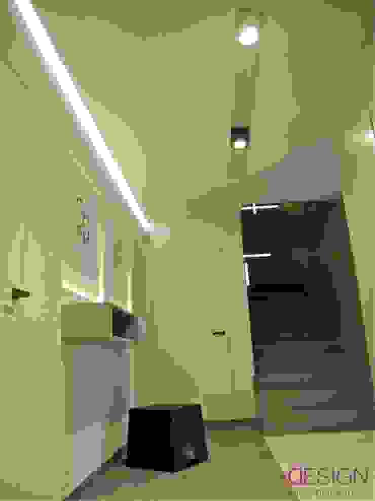 Modern Koridor, Hol & Merdivenler kabeDesign kasia białobłocka Modern