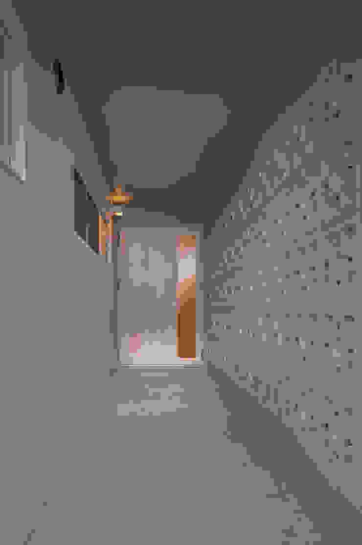 長閑の家 モダンスタイルの 玄関&廊下&階段 の プラソ建築設計事務所 モダン