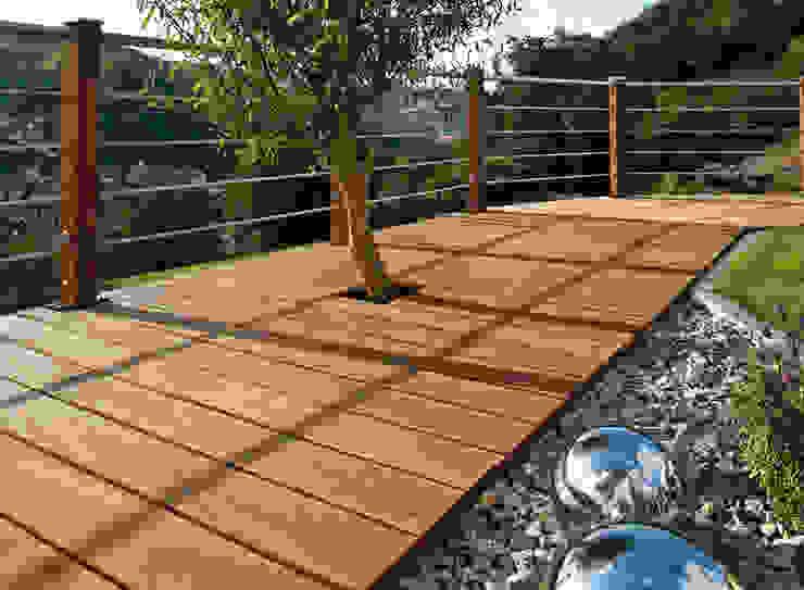 根據 Braun & Würfele - Holz im Garten 現代風