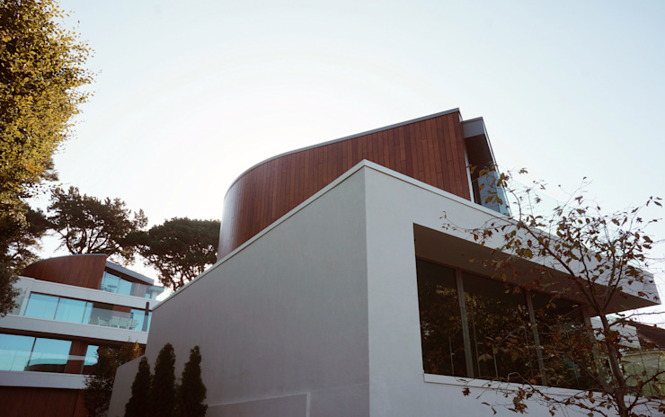 Brudenell Avenue, Canford Cliffs, Poole Modern houses by David James Architects & Partners Ltd Modern