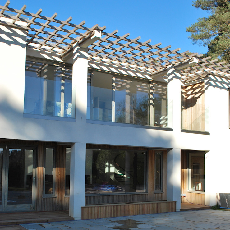 Balcony Giles Jollands Architect Modern Terrace