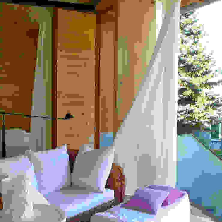 Einfamilienhaus Kr Minimalistische Wohnzimmer von becker architekten Minimalistisch