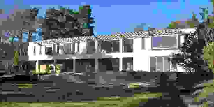 Garden Elevation Giles Jollands Architect Modern Houses
