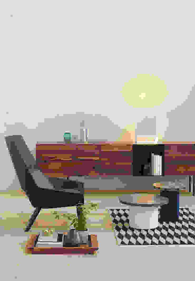 Side table ENOKI Salon moderne par e15 Moderne