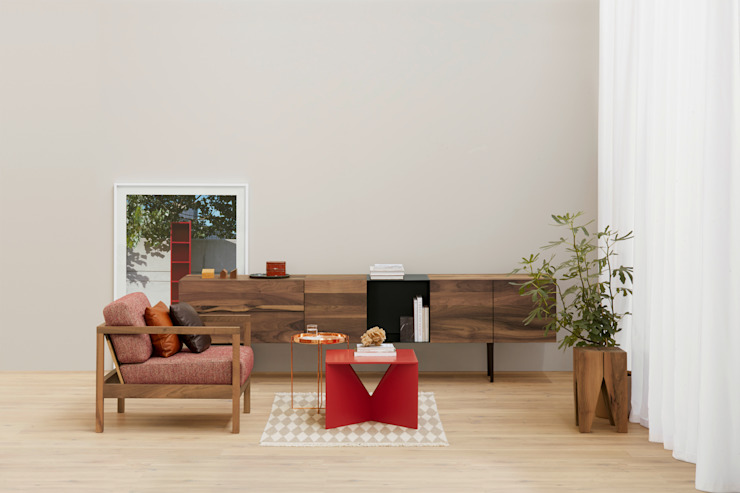 Lounge chair BYRON Salon moderne par e15 Moderne