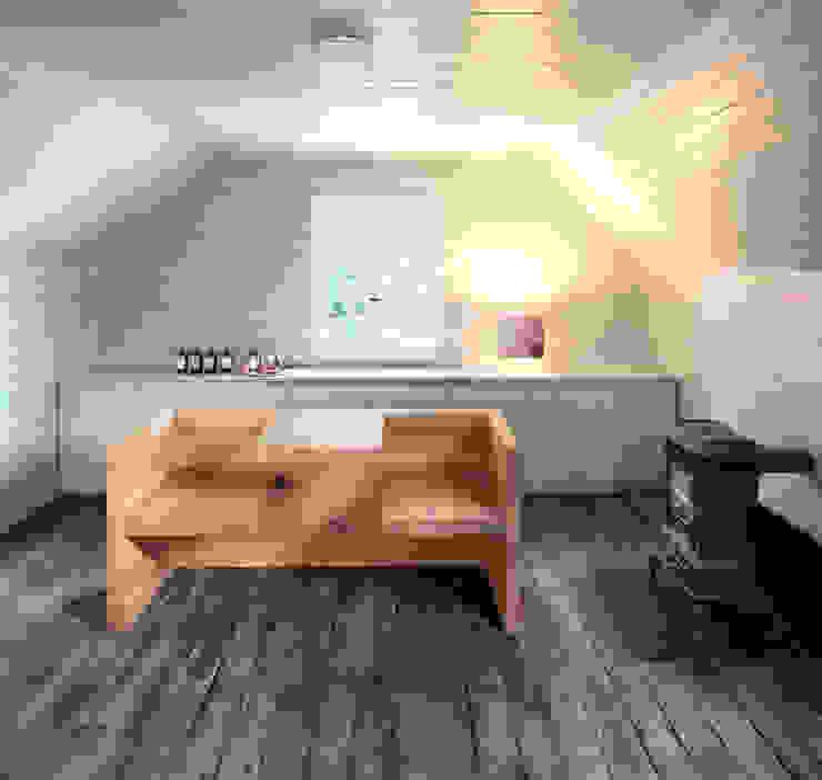 Table, bench TAFEL Salon moderne par e15 Moderne