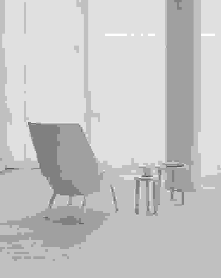 Lounge chair EUGENE Salon moderne par e15 Moderne