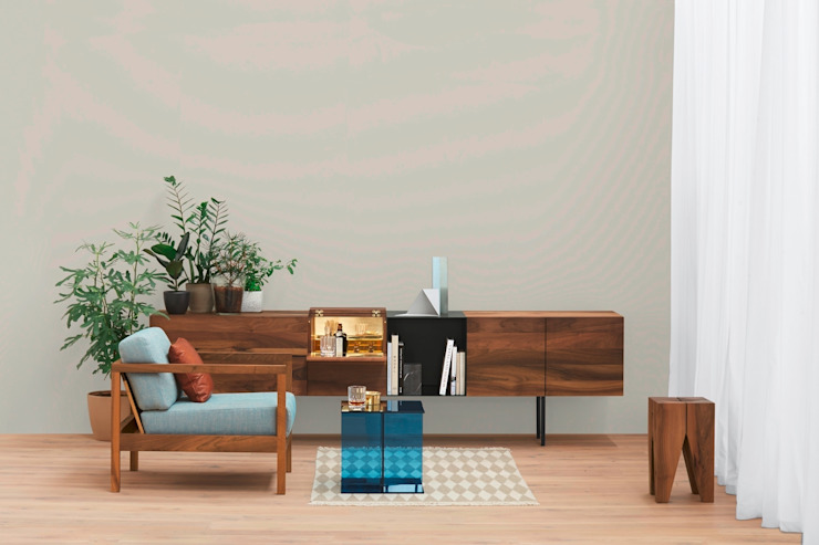 Sideboard SHANAZ / MAHANZ / ARAQ / DARA Moderne Wohnzimmer von e15 Modern