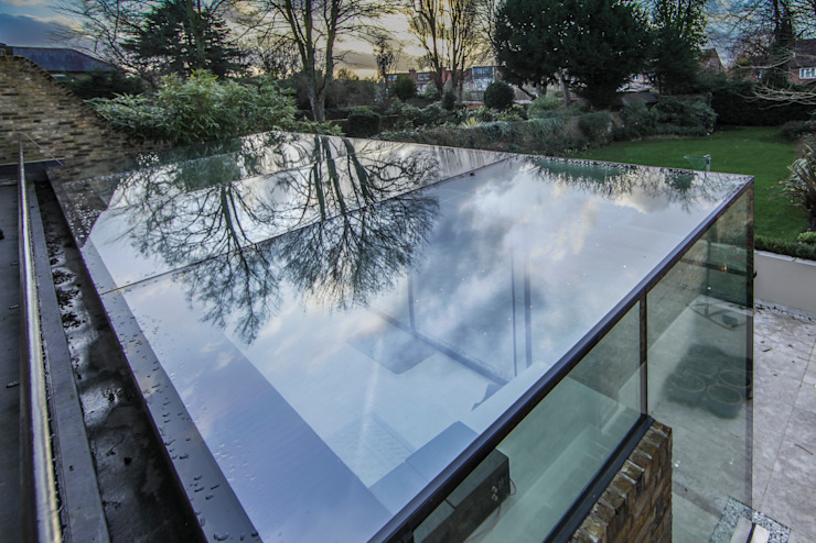 Barnes, London; Culmax Glass Box Extension Moderne Häuser von Maxlight Modern