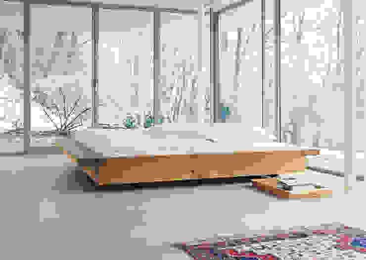 Bed NOAH Modern style bedroom by e15 Modern