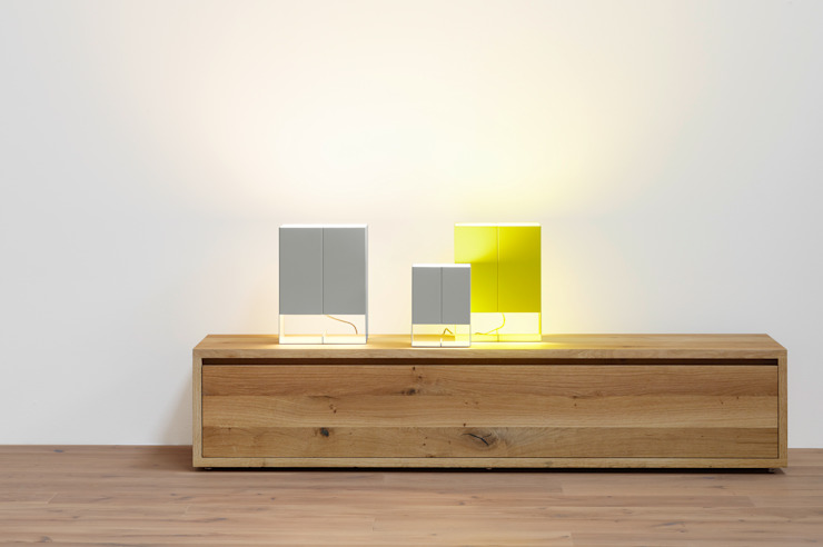 Table light SEAM TWO Modern Bedroom by e15 Modern
