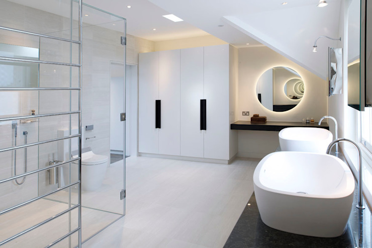 St John's Wood, London Minimal style Bathroom by Maxlight Minimalist