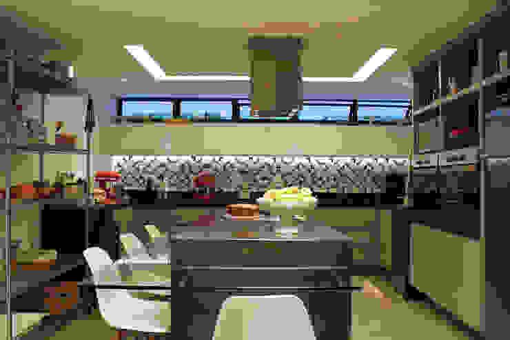 Cozinha com Ilha Cozinhas modernas por Vmf Arquitetos Moderno