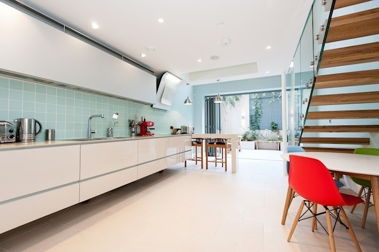 Early Victorian Townhouse Modern kitchen by Corebuild Modern