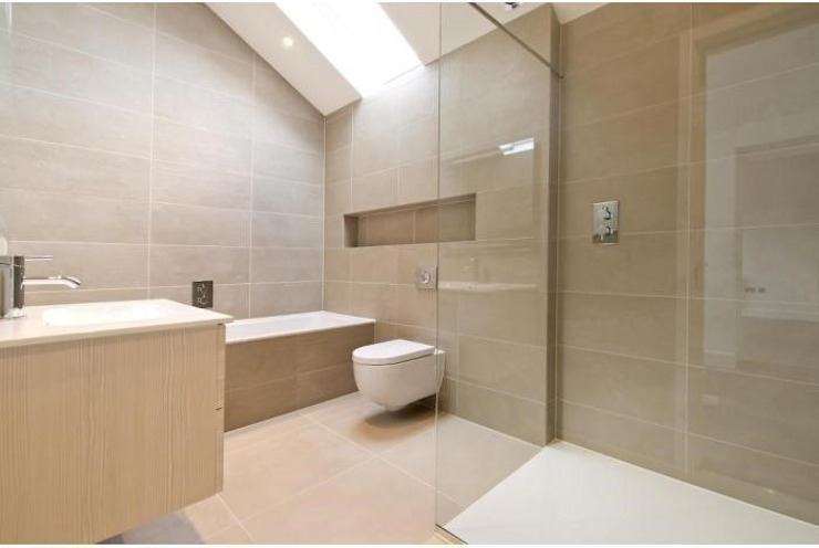 Coach House Conversion Modern bathroom by Corebuild Modern