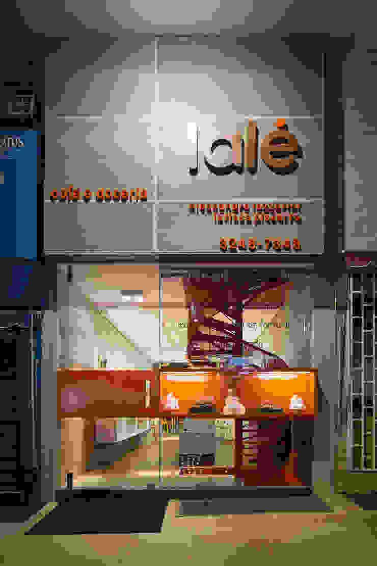 Fachada Lojas & Imóveis comerciais modernos por Vmf Arquitetos Moderno