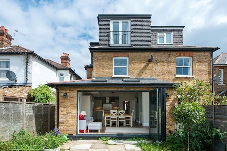Refurbishment of late Victorian Property Modern houses by Corebuild Modern
