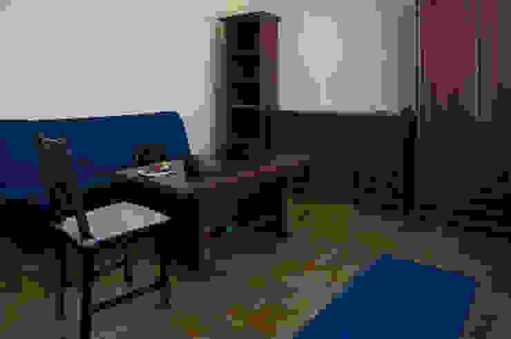 Salon przed zmianą od Home Staging Studio AP Klasyczny