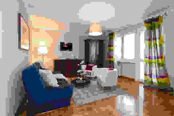 Salon po zmianie od Home Staging Studio AP Klasyczny