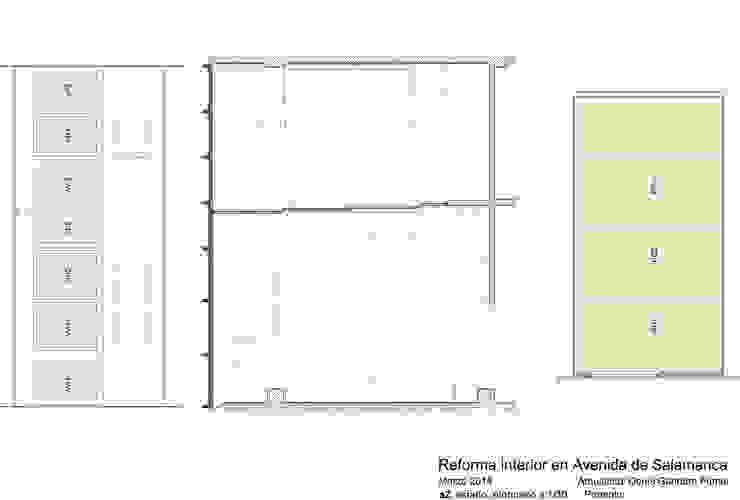 Plano planta estado reformado de Estudo de Arquitectura Denís Gándara