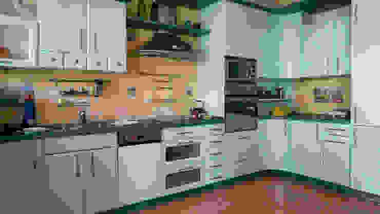 Kuchnia przed zmianą od Home Staging Studio AP Nowoczesny