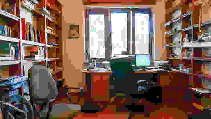 Gabinet przed zmianą od Home Staging Studio AP Nowoczesny