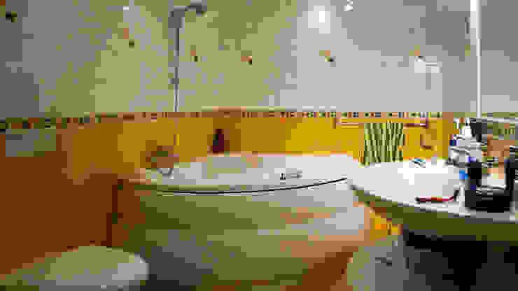Łazienka przed zmianą od Home Staging Studio AP Nowoczesny