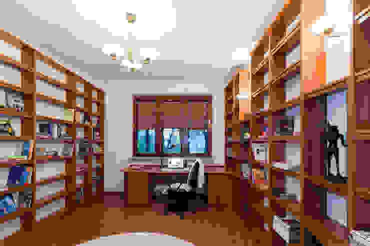 Gabinet po zmianie od Home Staging Studio AP Nowoczesny