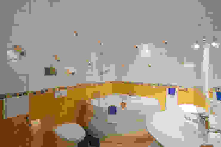 Łazienka po zmianie od Home Staging Studio AP Nowoczesny